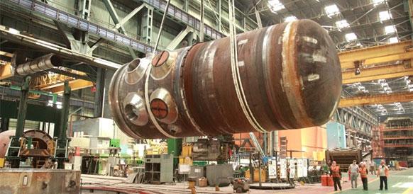Корпус реактора для Белорусской АЭС