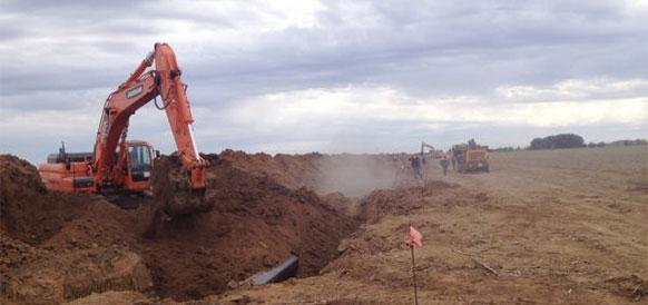Черноморнефтегаз, текущий ремонт, изоляционное покрытие, магистральный газопровод, МГП, Армянск - Джанкой