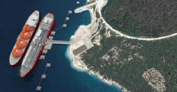 Проект LNG Croatia на полуострове Крк в Хорватии