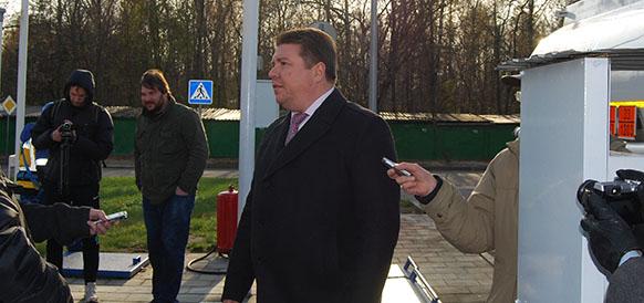Директор отделения в Московской области С. Лусенков