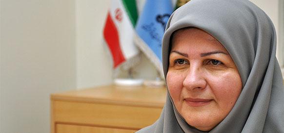 Замминистра нефти Ирана  по нефтехимическом делам Марзие Шахдайе