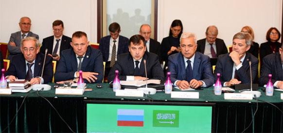 Кирилл Молодцов на заседании Российско-Саудовской рабочей группы