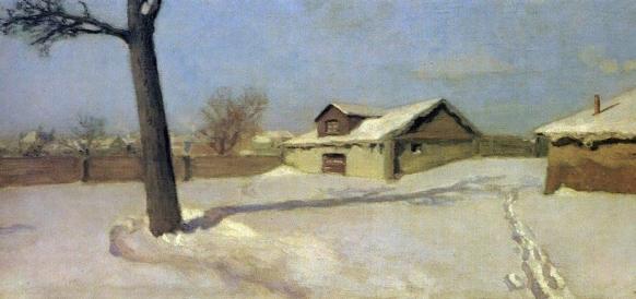 Николай Крымов. Зима