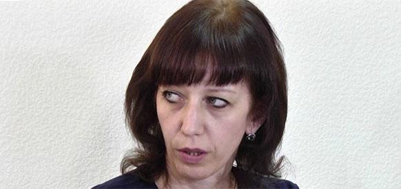 Глава украинского Черноморнефтегаза Светлана Нежнова
