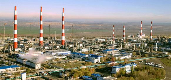Оренбургский ГПЗ Газпрома