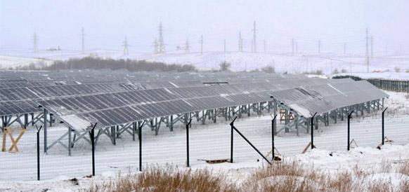 Орская СЭС в Оренбургской области