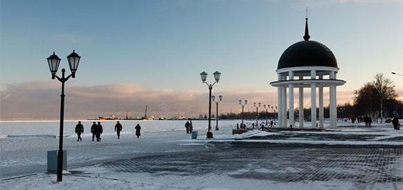 Петрозаводск, Онежская набережная