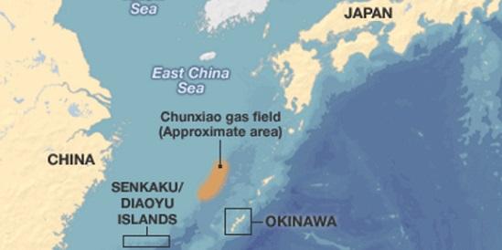 Острова Сенкаку (Дяоюйдао) в Восточно-Китайском море