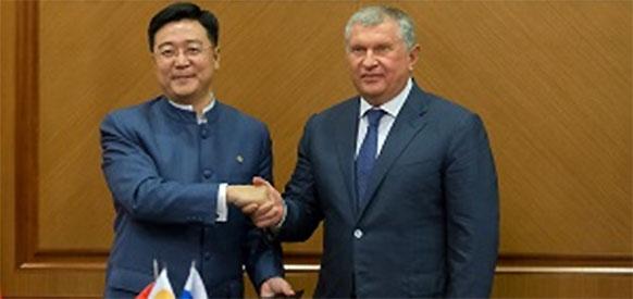 Во время визита С. Цзиньпина в г Москву Роснефть заключила несколько стратегических сделок с китайцами.