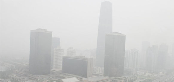 Смог над Пекином
