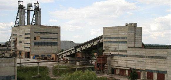 Шахта Смолинская по добыче урановой и ториевой руд в пгт Смолино Кировоградской области Украины