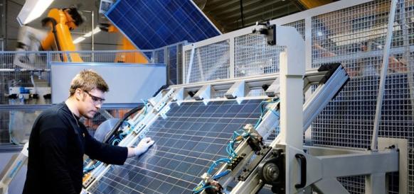 Производство солнечных панелей
