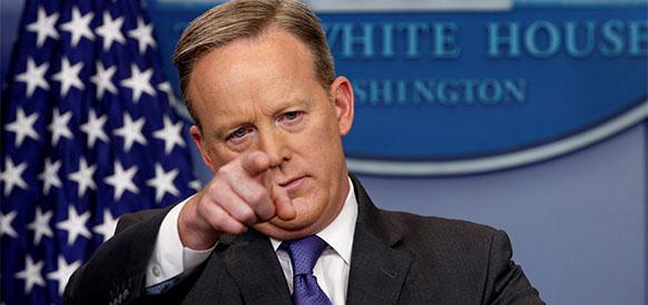 Пресс-секретарь Белого дома Шон Спайсер