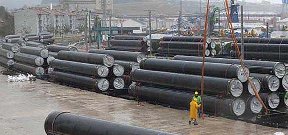 467236d20b1e9 Под проливным дождем на западе Турции начался новый этап строительства  газопровода TANAP