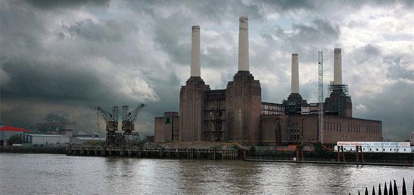 Электростанция в Челси, Великобритания