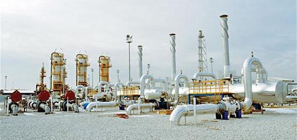 Подземное хранилище газа Tuz Lake в Турции