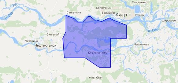 Южно-Сургутский участок недр в ХМАО
