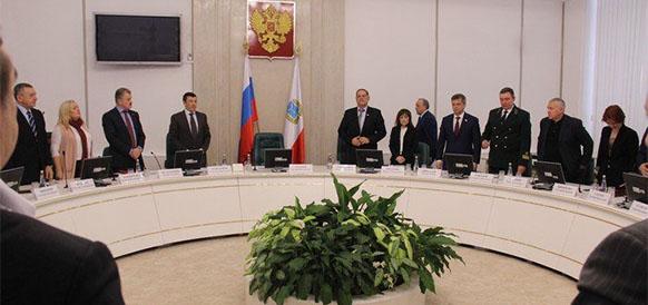Заседание высшего экономического совета Саратовской области