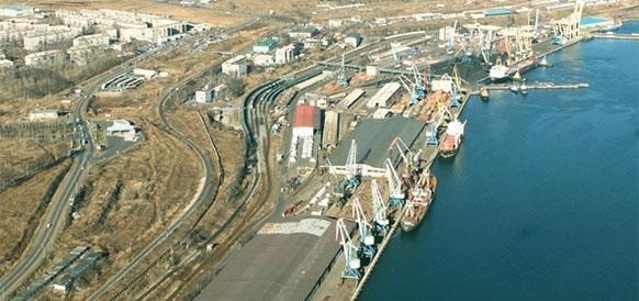 Порт Ванино, Хабаровский край