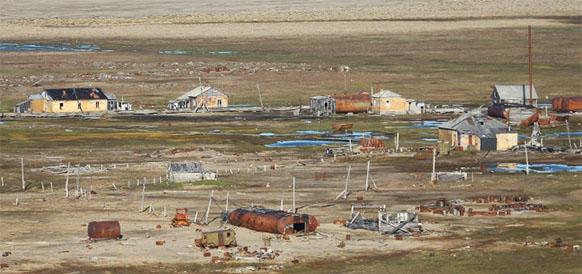 Остров Вилькицкого в Карском море