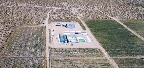 Строительство СЭС Villanueva в Мексике