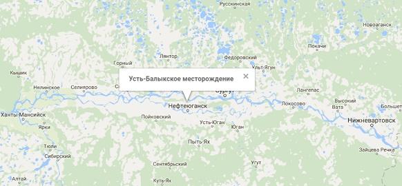 Самотлорское месторождение карта кустов