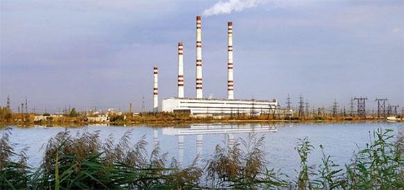 Заинская ГРЭС в республике Татарстан