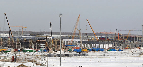 Строительство установки по производству полипропилена на ЗапСибНефтехиме