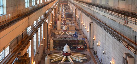 Машзал Жигулевской ГЭС