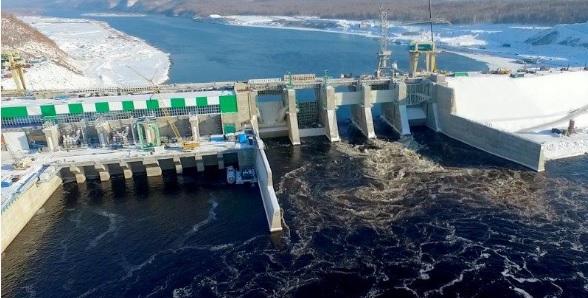 Настроящейся Нижне-Бурейской ГЭС началось наполнение водохранилища