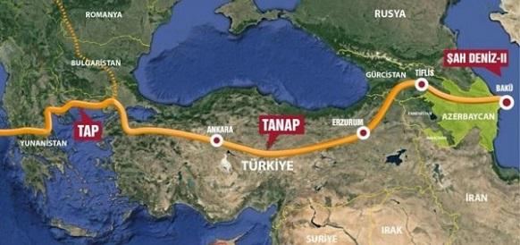 cbed349a4bffd В Баку заявили о возможности транспортировки газа по TANAP из  Туркменистана, Ирана и Ирака