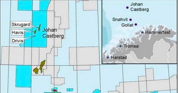 Норвежская компания Statoil вложит около $6 млрд вместорождение Johan Castberg