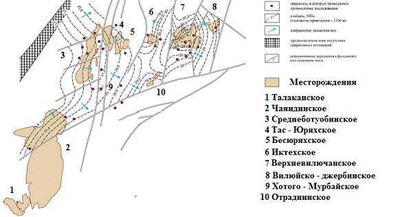Тас- Юряхское месторождение 4