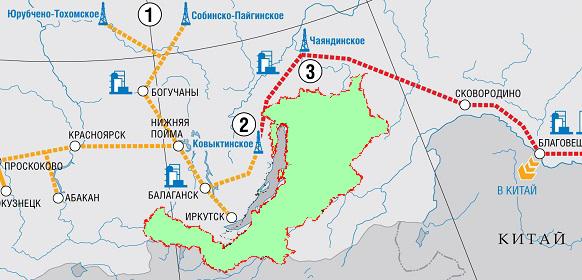 схема газопровода амурская область