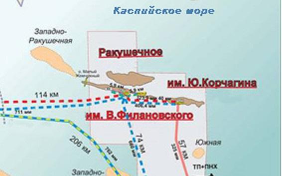 «Лукойл» вложит вместорождение Ракушечное наКаспии 500 млрд руб.
