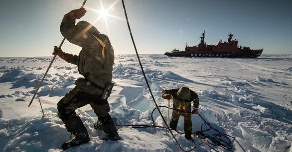 «Роснефть» сдвинула айсберг вАрктике исравнила его субийцей «Титаника»