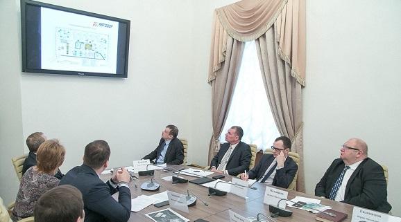 ВНовгородской области натрассе М-11 Роснефть занялась строительством многофункциональной зоны, как для олимпийского Сочи