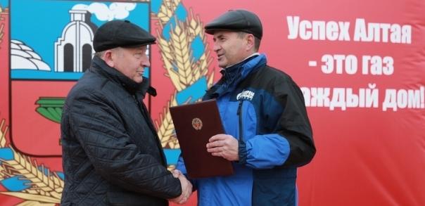 В Алтайском крае началось строительство объектов для газификации западных и юго-западных районов