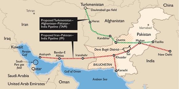 МГП Иран-Пакистан - Индия - это более безопасная альтернатива МГП ТАПИ