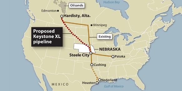 keystone  система нефтепроводов