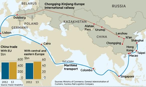 У России кране малы интересы в проекте Шелковый путь, но и отказываться нельзя