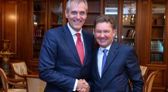 Газпром и австрийская OMV наконец достигли договоренностей по обмену активами заключив обязывающий договор