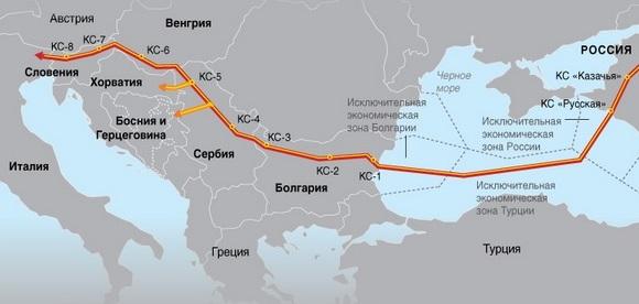 Нельзя исключать, что точкой входа 2й нитка МГП Турецкий поток может стать Болгария