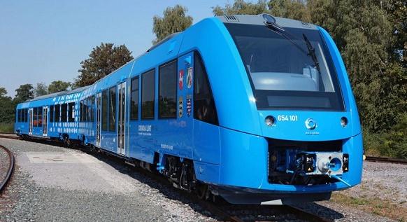 Пассажирский поезд Coradia iLint на водородных топливных элементах