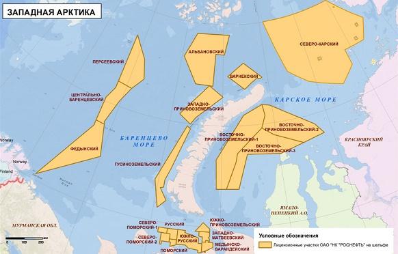 Роснефть активна в Карском море