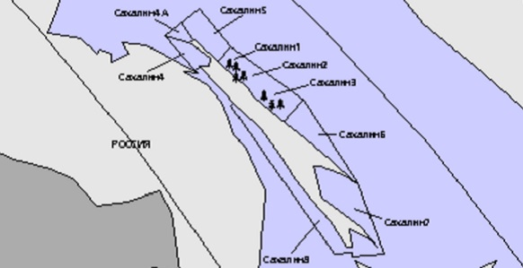 Сахалин 1 разрабатывает Роснефть, а Сахалин 2 - Газпром