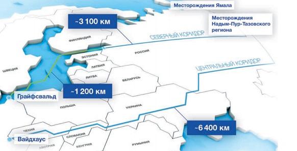 Северный поток 2 газопровод Nord Stream 2 - Что такое Северный поток 2  газопровод Nord Stream 2? - Техническая Библиотека Neftegaz.RU