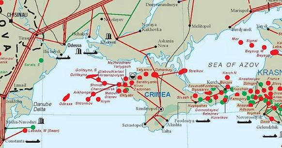 газ, шельф, Черное море, месторождение