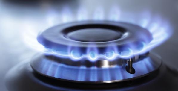 Газовая конфорка, газ