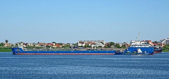 Танкер-химовоз, Сталинград, танкер